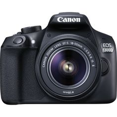 Visit Canon for Canon EOS 1300D + 18-55mm IS II lens and share with all your friends.