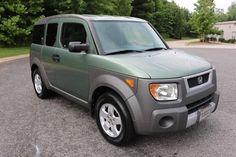 Car brand auctioned:Honda Element EX AWD 2004 Car model honda element ex awd green grey all pwr sunroof 199 k mi v clean no reserve