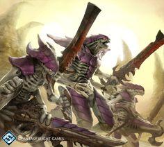 Savage Warrior Prime by Herckeim on DeviantArt (Warhammer 40k)(Tyranids)