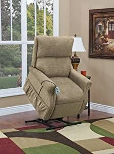 Two Way Reclining Lift Chair Encounter Khaki Lift Chairs