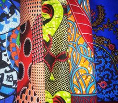 Lucky dip African fabric bundle by Elangeni on Etsy, $60.00