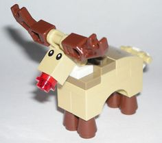 Save $10 when you spend $50+ on LEGO at UPSTATE BRICK - LEGO RUDOLPH THE RED NOSE REINDEER