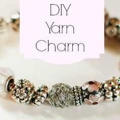 How to Make Your Own Yarn Charm | Petals to PicotsPetals to Picots