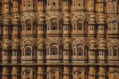 Ventanas y celosías del Palacio de los Vientos de Jaipur, India - Lugares que ver antes de morir (V)