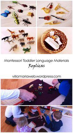 How to make Montessori Toddler Language Materials - Part One