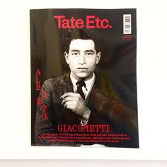 It's going to be a #giacometti summer at #tatemodern. Nice profile of the #sculptor by #colmtoibin in @TateEtcMag. Also #art in the age of #blackpower #tehchinghsieh #marinaabramovic #ottodix #augustsander #duchamp