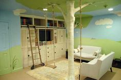 Forest Theme Kids Room Ideas
