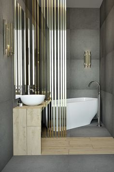 We have selected luxury bathrooms with different styles. Chic, contemporary or minimal here are refined interior design ideas to inspire you. Best Bathroom Designs, Bathroom Design Luxury, Luxury Bathrooms, Bathroom Ideas, Bathroom Inspiration, Interior Design Inspiration, Design Ideas, Design Trends, Contemporary Bathrooms
