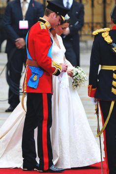 April 29, 2011: Marriage of HRH Prince William, Duke of Cambridge to HRH Catherine, Duchess of Cambridge at Westminster Abbey.