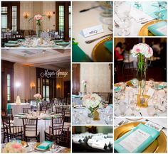 gorgeous champaign country club wedding reception