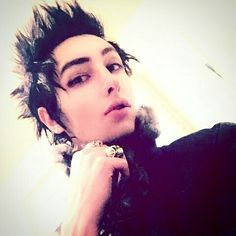 The beautiful Remington Leith of Palaye Royale