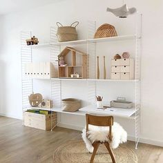 How beautiful is this neutral child's space by 👈🏻 Good night ✨. - My Home Decor Childrens Bedroom Furniture, Childrens Room Decor, Kids Decor, Kids Furniture, Home Decor, Minimalist Kids, Kids Room Design, Scandinavian Home, Kid Spaces