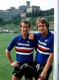 Liam Brady Trevor Francis Sampdoria