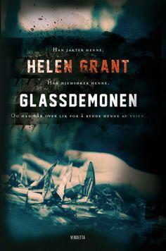 The Glass Demon, Norwegian cover (Vendetta). I love this one!