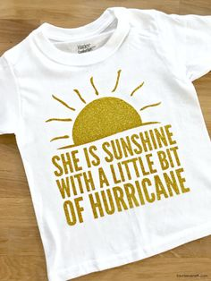 Do you have a spicy little lady in your life? Dont miss out on this fun sunshine and hurricane t-shirt and cut file.Its the perfect DIY. Fashion Tips For Women, Diy Fashion, Vinyl Designs, Shirt Designs, Card Sentiments, Cricut Creations, T Shirt Diy, Couple Shirts, Silhouette Projects