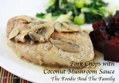 Pork Chops in Coconu