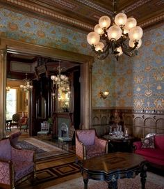 Wonderful Renaissance Living Room Interior Design_43