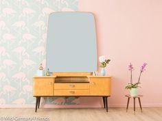 Vintage Kommoden - Zauberhafte Frisierkommode, 50er, 60er, Kommode - ein Designerstück von Mid-Century-Friends bei DaWanda