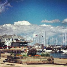 Lunch time at South Shore Yacht Club by: Anna Mae Tiry   Lunch time at South Shore Yacht Club in Milwaukee's Bay View #milwaukee #bayview