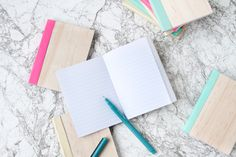 Cover Me: DIY Leather and Wood Covered Notebooks