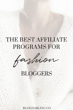 Want to make money blogging as a fashion blogger? Check out these profitable affiliate programs for fashion bloggers! Get paid to promote your favorite brands on your blog. Shopbop, Wildfox, Modcloth, Free People, ASOS, Topshop, & more all have affiliate programs open to fashion bloggers! #fashionbloggers #makemoneyblogging