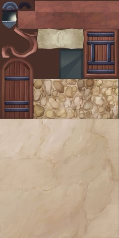 ArtStation - Cliff House, eunkyung LEE