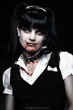 Vampire Pauley Perrette by SamBriggs.deviantart.com on @deviantART