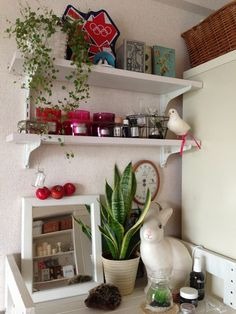 kaorin の部屋「棚 その2」 | reroom [リルム] 部屋じまんコミュニティ Rabbit night light