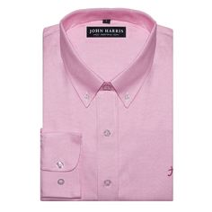 Our pink oxford shirt one among ten different colors in our collection. Which one is your favorite? Let us know in the comment section below.  #oxford #shirt #pink #dapper #preppy #buttondown #mensfashion #mensfashionpost