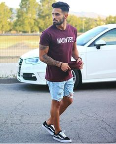 32 Style Guide Mens Fashion this Summer – Outfits – Men Summer Outfits Men, Casual Outfits, Easy Outfits, Spring Outfits, Casual Shirts, Mens Summer Trends, Mens Trends, Mode Man, Casual Wear For Men