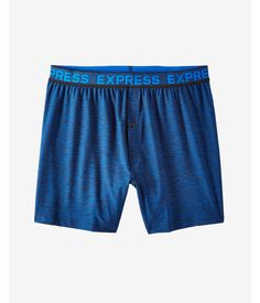 Blue. Dress To Impress From Layer One With This Pair Of Moisture-Wicking Boxers That Are All About Confidence. Decked Out In A Space Dye Design With An Elastic Waistband And Stretch Fit, They're A Perfect Mix Of All-Day Comfort And Fresh, Cool Style.. Mens Underwear. X Large