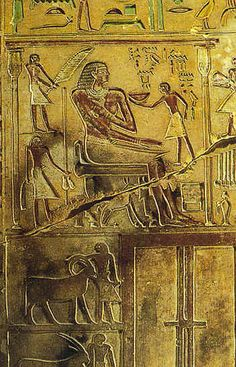 11 Stela of Intef's tomb
