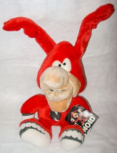 Domino's The Noid Plush Doll.