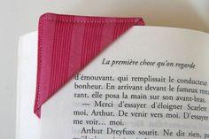 Marque-page en tissu - Petit Citron
