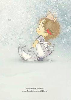 (*˘︶˘*)ilustraciones infantiles