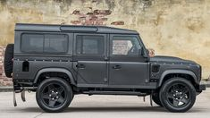 Land Rover Defender End Edition by Khan Design Right Side Profile