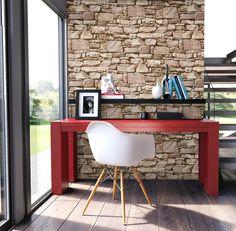 tapete stein steinwand vlies mauer beige fototapete klinker wand 3d optik neu tapeten. Black Bedroom Furniture Sets. Home Design Ideas