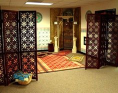 Muslim prayer room design