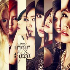 T-ara - Day by Day Concept Photos | Beautiful Korean Artists