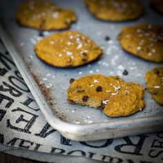 paleo pumpkin cookies, with coconut flour. Dessert or breakfast cookies