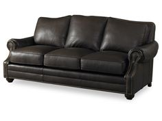 Bradington-Young's DIETRICH STATIONARY SOFA 8-WAY TIE | 660-95