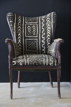 Tradition lines with exotic pattern on natural fabric... perfectly imperfect, just the way I like it. Inspired