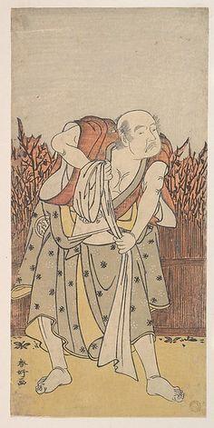 Katsukawa Shunkō (Japanese, 1743–1812). The Second Nakamura Sukegoro as an Old Man, ca. 1788? The Metropolitan Museum of Art, New York. Purchase, Joseph Pulitzer Bequest, 1918 (JP280)
