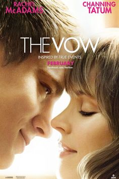The Vow (2012)  A newlywed couple recovers from a car accident that puts the wife in a coma. Waking up with severe memory loss, her husband endeavors to win her heart again.
