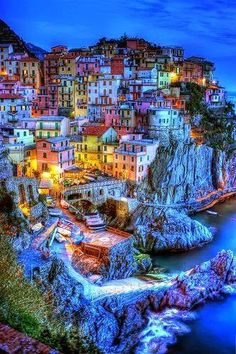 Travel and See the World — Cinque Terre, Italy