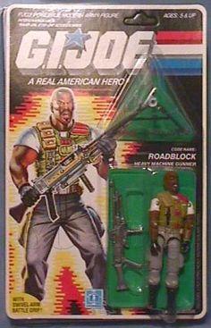 ROADBLOCK (v2), YOJOE.COM | YoJoe.com: Dedicated to the G.I.Joe of the 80's, 90's and beyond!
