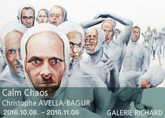 Face FS1812 Pilgrimage to the New World, 2013 78 ¾ x 157 ½ inches, 200 x 420 cm - oil on canvas  Calm Chaos Christophe AVELLA-BAGUR展 2016.10.08 - 2016.11.06  #관람시간  01:00pm-07:00pm(Tue-Sat) GALERIE RICHARD