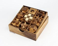 Extra Large Wooden Brainteaser MONKEY POD GAMES Giant Star Puzzle