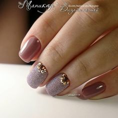Pin by Dasha Kudryavceva on Nail art in 2019 Hot Nails, Pink Nails, Stylish Nails, Trendy Nails, No Chip Nails, Gel Nagel Design, Bridal Nail Art, Broken Nails, Wedding Nails Design