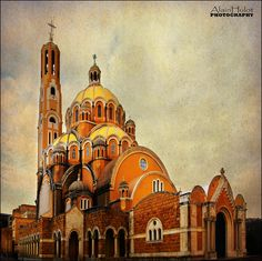 Notre Dame du Liban by A.Hulot.. Harissa, Beirut, Lebanon